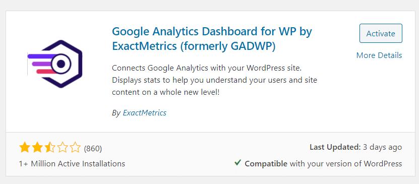 install-exactmetrics-wordpres-plugin