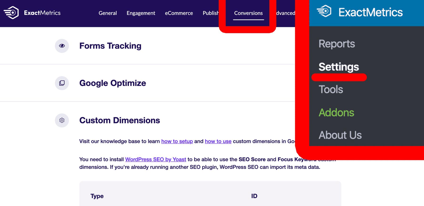 conversions-settings-exactmetrics