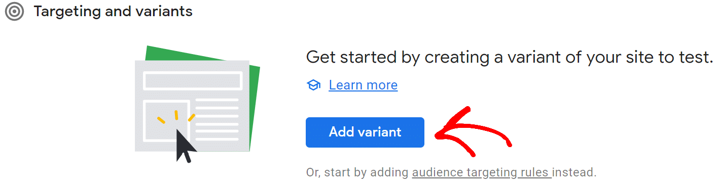 create-variant-google-optimize