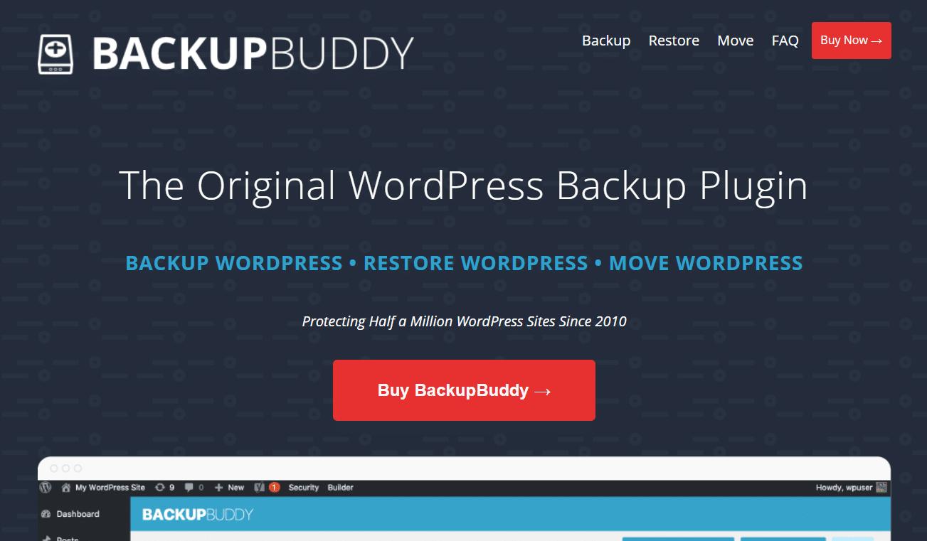backupbuddy wordpress security plugin