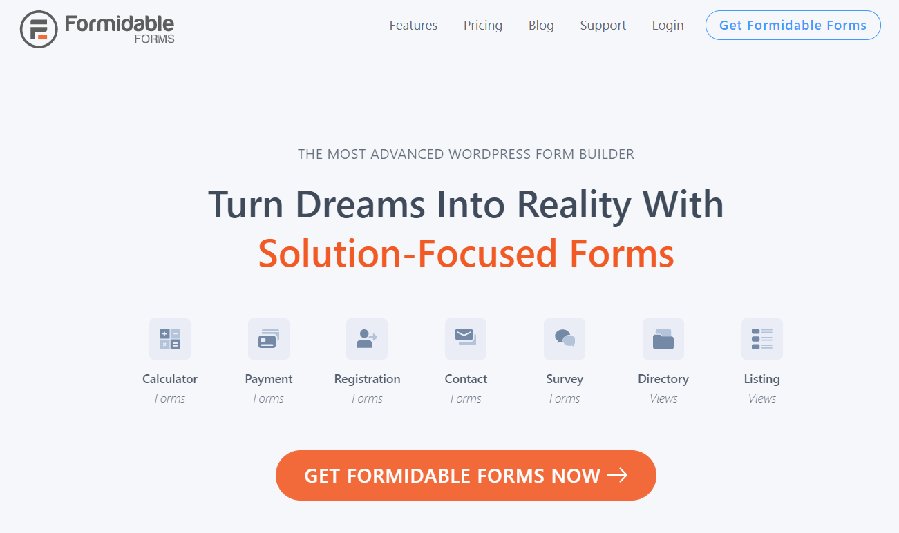 formidable forms best wordpress survey plugin