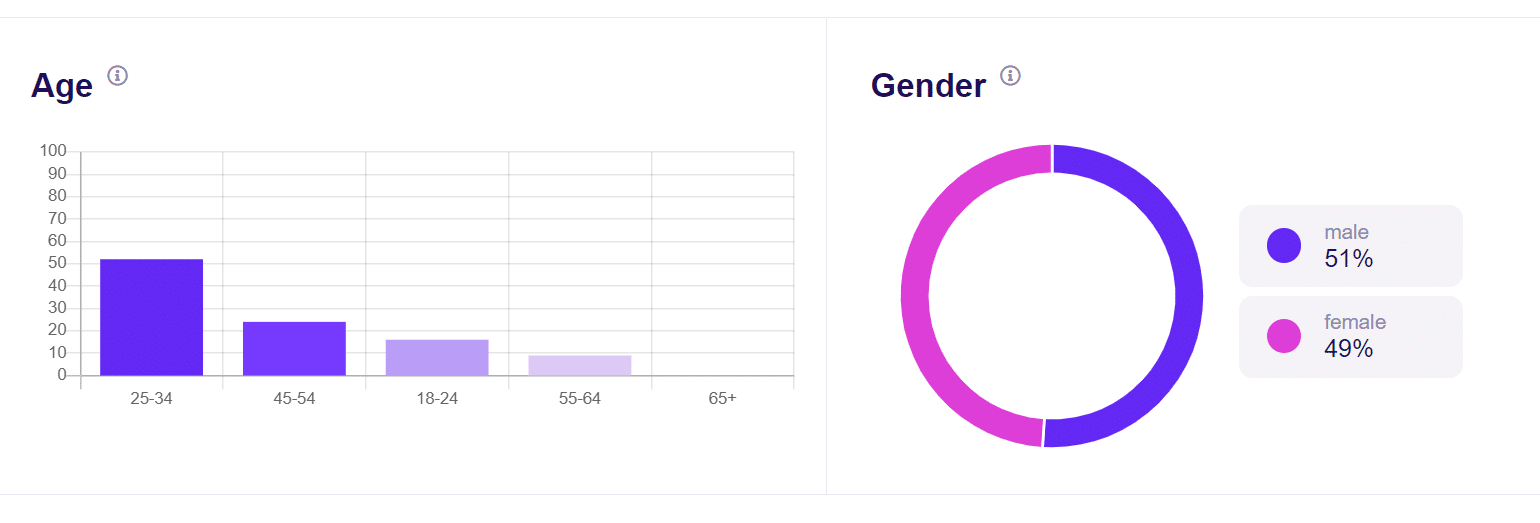 age and gender wordpress visitor tracking