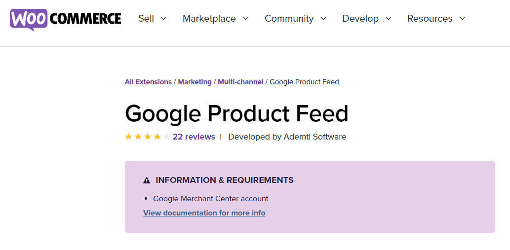 google product feed best woocommerce plugin