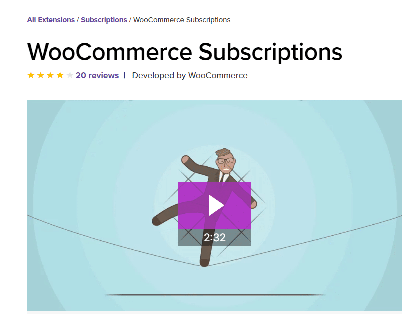 subscription woocommerce