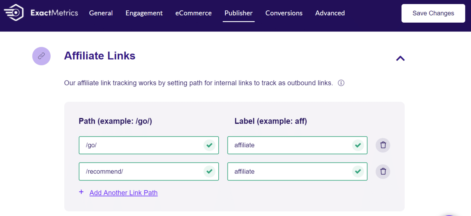 exactmetrics-affiliate-link-tracking