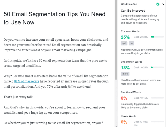 use the right words to get more clicks on your SEO titles