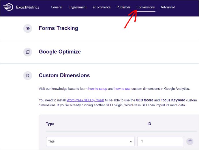 File Download Tracking ExactMetrics