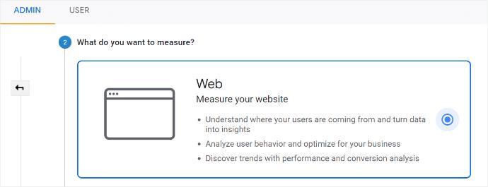 Google Analytics Measure Website Stats