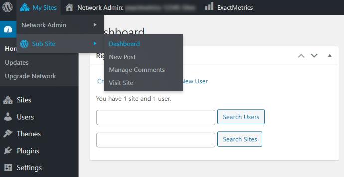 wordpress-multisite-navigation