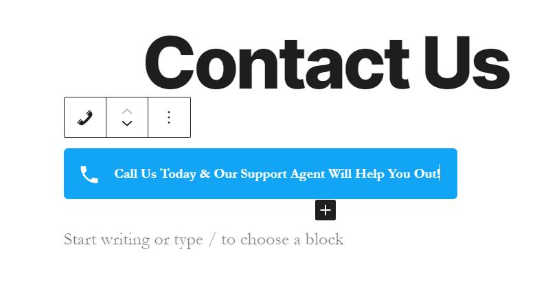 click to call button example