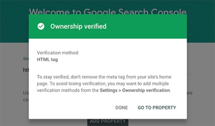 ownership verified