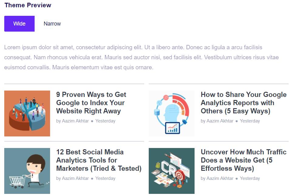 Popular Posts Widget in WordPress