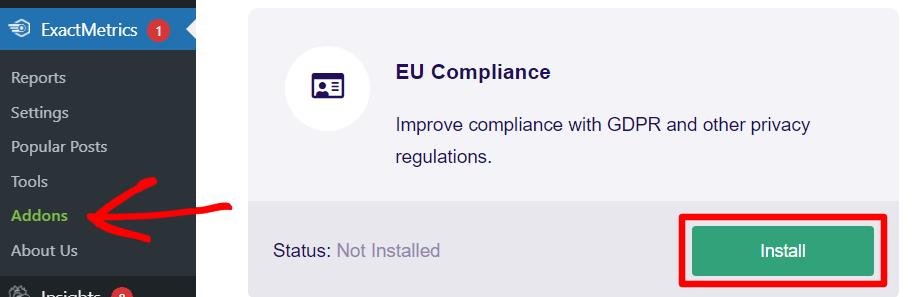 EU Compliance Addon